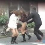 【悪戯盗撮】必撮!スカートめくり OL風の綺麗な女限定1【痴漢盗撮】
