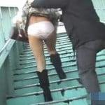 【悪戯盗撮】必撮!スカートめくり OL風の綺麗な女限定3【痴漢盗撮】
