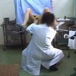 【病院盗撮】産婦人科の診察で患者を弄ぶ悪い医者1【痴漢盗撮】