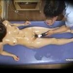 【SEX盗撮】エステの面接に来た巨乳人妻を研修と称してヤる【マッサージ盗撮】