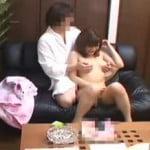 【SEX盗撮】巨乳デリ嬢をソファーで生ハメ【風俗盗撮】