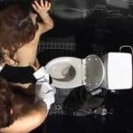 【SEX盗撮】盗撮 キャバクラのトイレ リアル感あり