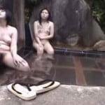 【風呂盗撮】露天風呂を盗撮。股全開でくつろぐまーんw