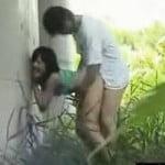 【青姦盗撮】交尾中のカップルに盗撮バレするまで近付いてみた結果wwww