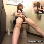 【オナニー盗撮】家庭内盗撮 綺麗な足ピンでオナニーする女性