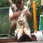 【胸チラ隠撮】ノーブラ女1~おっぱい嫌がらせ列伝~【悪戯隠撮】