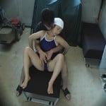 【SEX隠撮】マッサージと称して露骨に女生徒の身体を触りまくるコーチ【マッサージ隠撮】