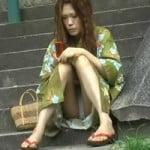 【パンチラ隠撮】浴衣姿の娘のパンティが見たいんです!Scene3