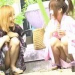 【パンチラ隠撮】浴衣姿の娘のパンティが見たいんです!Scene1