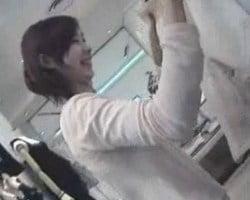 【胸チラ隠撮】HamansWorld ⑤店員さんシリーズⅢ 待ちきれないサクランボたち