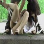 【悪戯隠撮】女性のパンツを引き千切るつもりで引っ張り回す【痴漢隠撮】