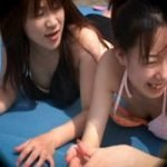 【胸チラ隠撮】ビーチでおっぱい2
