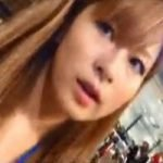 【パンチラ隠撮】茶髪ショップ店員の肉厚なお尻と食い込みパンチラ