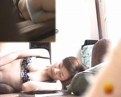 【オナニー隠撮】シスコン兄貴の隠し撮り記録 妹のオナニー現場を覗き見