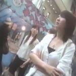【パンチラ隠撮】街角パンチラ 顔付全身撮りからのパンチラ撮影
