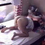 【オナニー隠撮】一人暮らし女性宅に隠しカメラを設置して休日の生態観察!この娘朝からオナニーしかしてねぇwwww