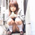 【パンチラ隠撮】有村●純似の美少女が晒した面白パンチラwwww