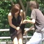 【悪戯隠撮】悪質スカートめくり!パンツ剥ぎ取りDASH!【痴漢隠撮】
