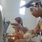【風呂隠撮】女盗撮師が行く!身体を洗う女性客を真横でこっそり隠し撮り