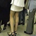 【パンチラ隠撮】ラッシュ時の駅構内ではパンチラが撮れまくり!