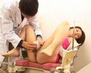 【病院盗撮】触診と称して猥褻行為におよぶ悪徳産婦人科医の診療記録
