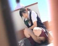 【オナニー盗撮】いつか誰かにバレるかも… スリルの味が忘れられず外オナニーが止められない女子校生を追跡撮り!