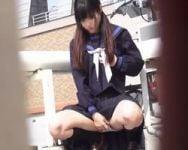 【オナニー盗撮】神アングルカメラでクリトリスをシゴく様子が丸見え!女子校生オナニーを隠し撮り!