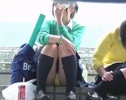 kara★B流出!美女パンチラ