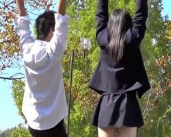 MOFUMOFU流出!彼氏とデート中の女子校生