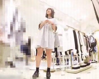 ミミック(たぴおか)ショップ店員パンチラ盗撮