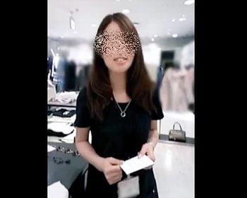 Mr.研修生さんのショップ店員パンチラ盗撮
